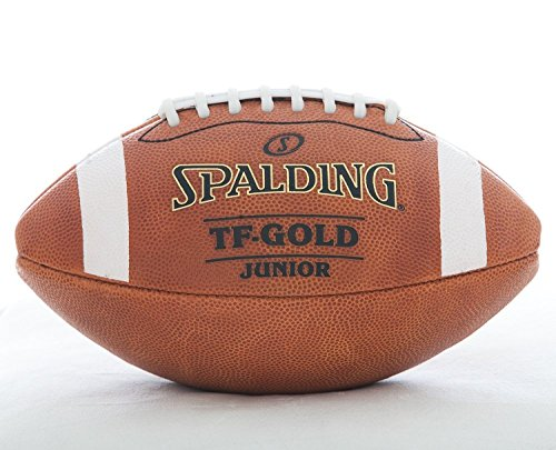 Spalding TF-Gold Pee Wee Leather Football (Pee Wee Football Equipment compare prices)