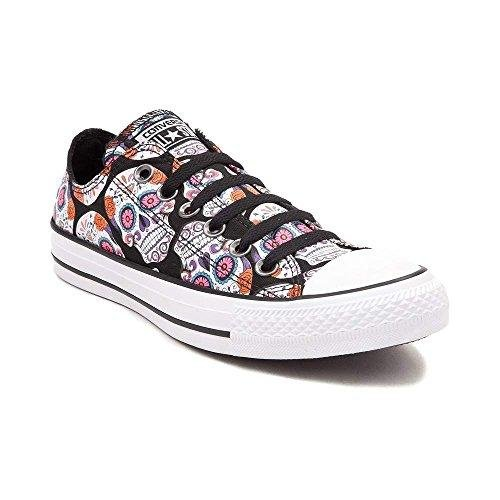 Converse Chuck Taylor All Star Lo (Mens 6/Womens 8, Sugar Skulls)