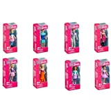 Mega Brands Mega Bloks Barbie Small Display Character (Colors/Style Vary)-1 Character Will Be Received (Assorted)