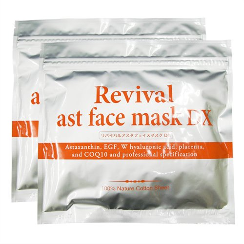 リバイバルアスタフェイスマスク 30枚入り x2袋