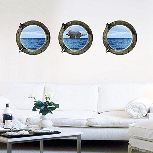 hublot-ensemble-de-3-operateurs-de-ocean-3d-fenetre-partielle-givre-glacage-murales-amovible-wall-st
