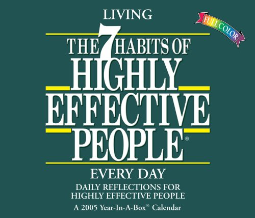 The 7 Habits of Highly Effective People, 2006 Calendar