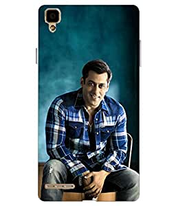 Make My Print Printed Multicolor soft Back Cover For Oppo F1 Selfie