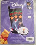 Janlynn Disney Eeyore's Christmas Felt Applique Stocking Kit