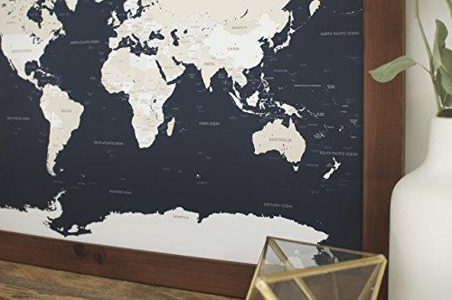Desertcart Oman Wayfaren Buy Wayfaren Products Online In Oman - Small framed world map