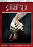 Schindlers List - 20th Anniversary Limited Edition (DVD + Digital Copy + UltraViolet)
