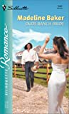 Dude Ranch Bride (0373196423) by Baker, Madeline
