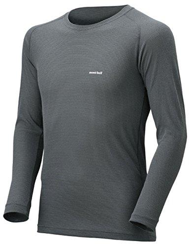 (モンベル)mont-bell ジオラインL.W.ラウンドネックシャツ Men's 1107486 SH/NV シャドウ/ネイビー M