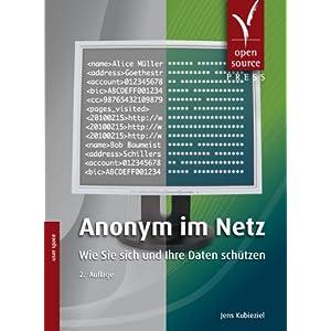 eBook Cover für  Anonym im Netz Wie Sie sich und Ihre Daten sch uuml tzen