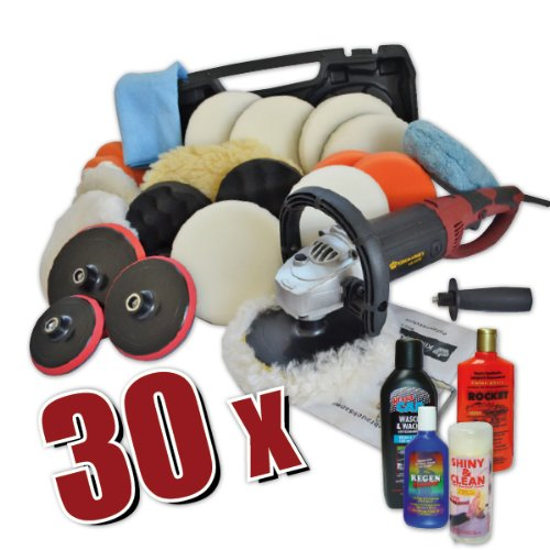 CAR BOAT POLISHER,ELECTRIC,SANDER, BUFFER + Set 3, 1500 W