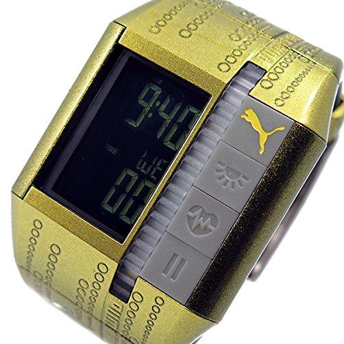 プーマ タイム PUMA デジタル 腕時計 カーディアック2 PU910501007 ゴールド[並行輸入品]
