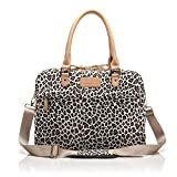 J-Bonest® Cute Leopard's Spots Laptop Carrying Case Pouch Sleeve Shoulder Messenger Bag Briefcase for Macbook Pro/Air 15.6 inch, Acer, Dell, HP, Sony,Ausa,Samsung,lenovo, Notebook (15-15.6 Inches)