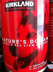Nature's Domain Kirkland Turkey and Pea Stew Dog Food 13.2 Oz Can