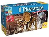 piccolo genio excavar y descubrir Triceratops juego educativo 7-12y italiano (en italiano)