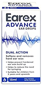 Earex Advance Ear Wax Removal Drops With Dual Action 15ml