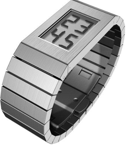 Rosendahl 43273 - Reloj de mujer de cuarzo, correa de acero inoxidable color plata
