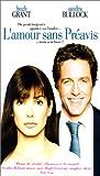 echange, troc L'Amour sans préavis [VHS]
