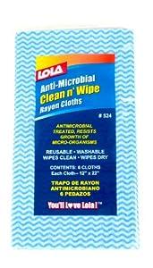 Lola 525 Anti-Microbial Clean n' Wipe
