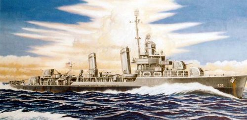 Skywave 1/700 WWII US Destroyer USS Caldwell DD605 Model Kit