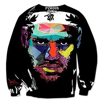 Sweaters 3D Print LeBron James Tie-Dye Graffiti Hoodies Sweatshirts