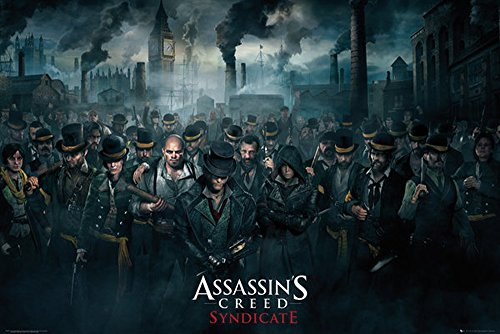 Assassins Creed - Poster - Syndicate Crowd + Poster a sorpresa