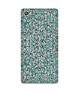 Pentagon Pattern Sony Xperia M5 Case