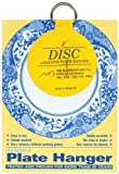 Flatiron Disc Invisible Plate Hanger, 2-Inch by The Disc Plate Hanger Company