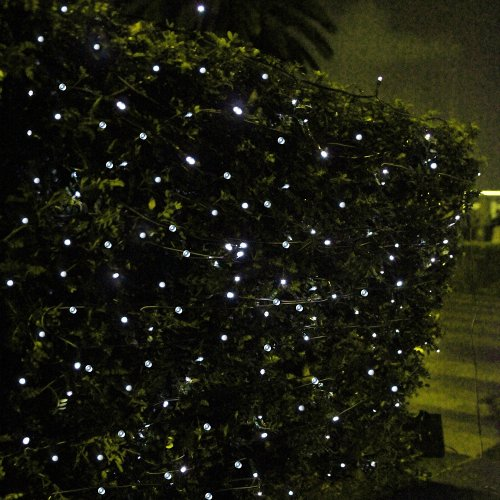 Solar Outdoor String Lights By Innoo Tech: Innoo Tech 55ft/17m 100 LED Solar String Lights For