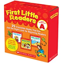 First Little Readers Parent Pack: Guided Reading Level A: 퍼스트 리틀 리더 레벨 A 패런트 팩 Scholastic Teaching Resources 25 Irresistible Books That Are Just the Ri