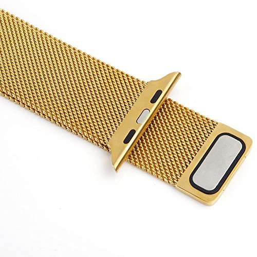 11 Possible Replacements On The View: USA Apple Watch Band,Teslasz® 38mm Mesh Replacement Strap