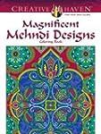 Creative Haven Magnificent Mehndi Des...