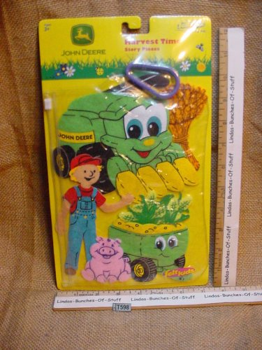 John Deere Harvest Time Felt Kids Farm Story Pieces - 1