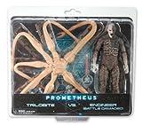 NECA Prometheus Exclusive アクションフィギュア 2-Pack Engineer vs. Trilobite(並行輸入)