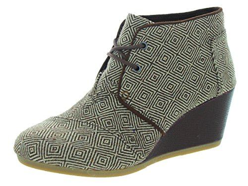 Toms Women's Desert Wedge Casual Shoe