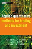 img - for Applied Quantitative Methods for Trading and Investment book / textbook / text book