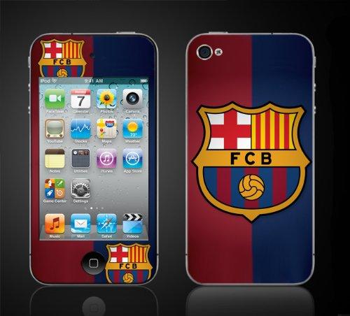 Apple iPod Touch 4th Gen Skin Kit - Barcelona Design. FCB. Barcelona Futbal Club