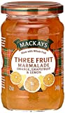 Mackays Three Fruit Marmalade 340g