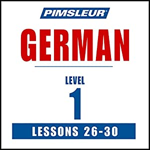 German Level 1 Lessons 26-30 Speech