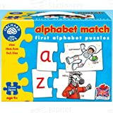 Orchard Toys Alphabet Match Puzzles new for 2014 from Jupiter Stationery