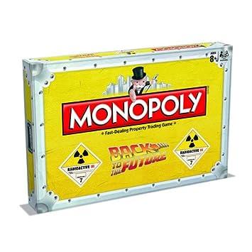 Retour vers le Futur jeu de plateau Monopoly *ANGLAIS*