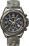 Timex T49987 Men's Expedition Rugged Chrono Camouflage Leather Strap Watch