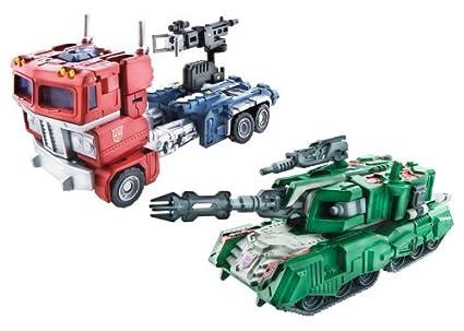 Hasbro - Transformers Classics - Figurine Optimus Prime vs Megatron, The Ultimate Battle