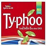 タイフー紅茶 Typhoo ティバッグ80p