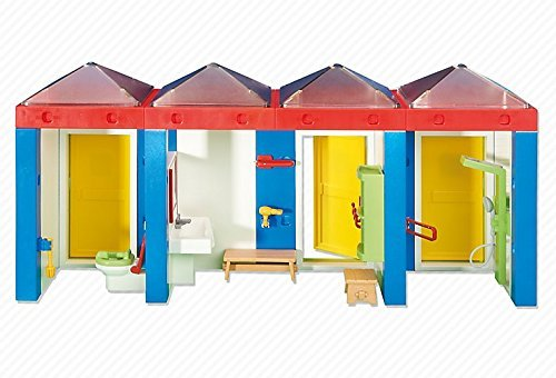 Water Park Changing Room with Shower