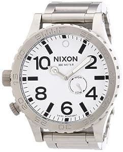 NIXON Men's NXA057100 Tide Phase Display Sub-Dial Watch