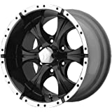 "Helo HE791 Maxx Gloss Black Wheel With Machined Face (17x9""/6x139.7mm, +18mm offset)"