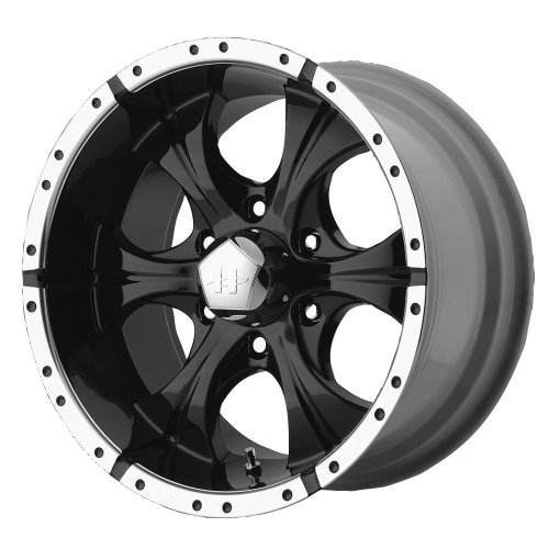 Helo Maxx Wheel with Gloss Black Machined (15x8