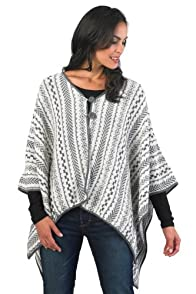 Tey-Art Fair Trade Alpaca Poncho