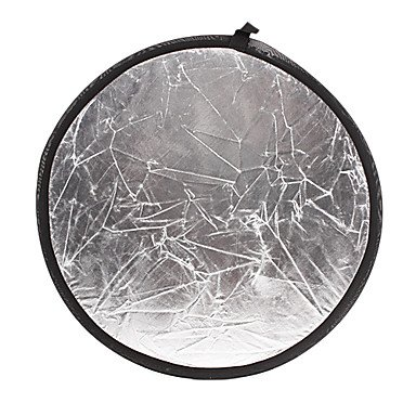 Jajay Gold Silver Reflective Plate 80Cm