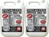 2 x 5 Litres Pro-Kleen Professional Universal Dishwasher Rinse Aid